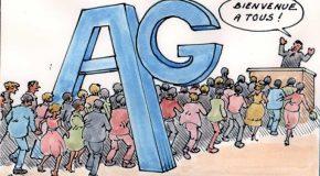 Assemblée Générale  AVRIL 2019 Compte rendu