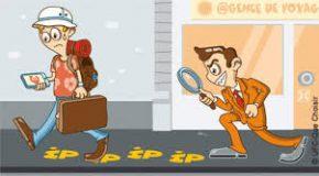 Achats de billets sur Internet IP TRACKING