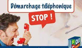 Démarchage téléphonique Alerte