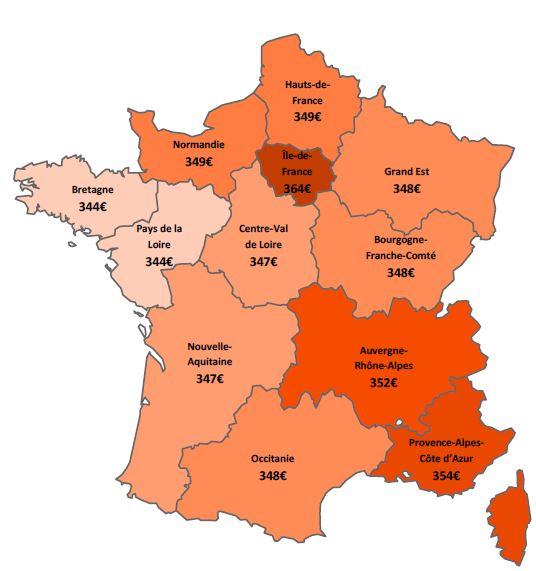 Disparités par régions